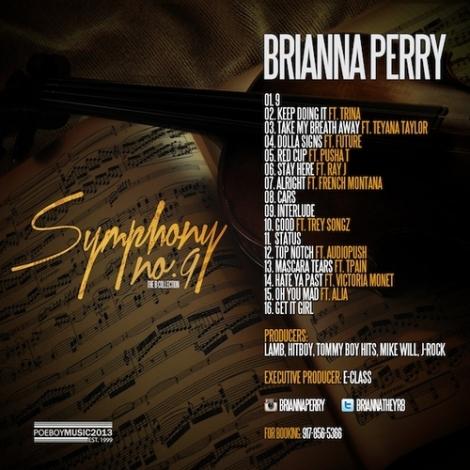 brianna perry symphony no 9 tracklist