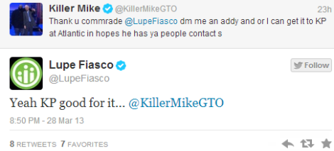 Lupe Fiasco   Killer Mike Track Coming Soon 2