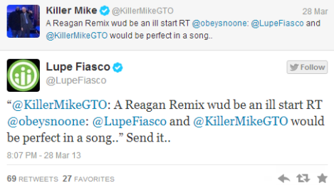 Lupe Fiasco   Killer Mike Track Coming Soon