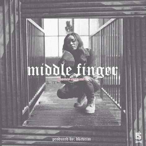 middle finger honey cocaine
