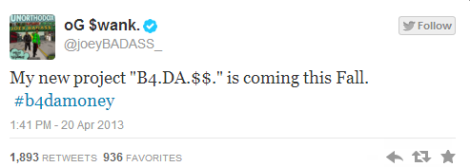 Joey Bada$$ Announces Debut Album Title
