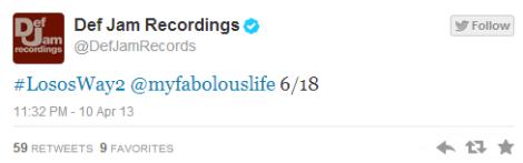 [Release Date] Fabolous – Losos Way 2 -