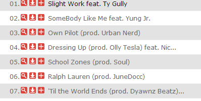 Ty Gully Mixtapes - 'Til the World Ends tracklist
