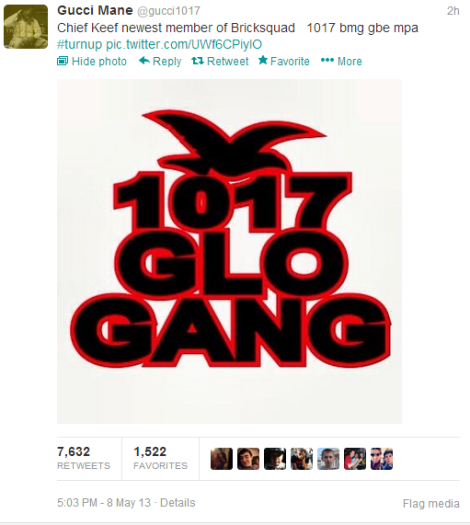 Gucci Mane  gucci1017  on Twitter chief keef