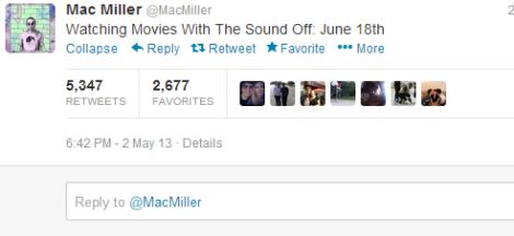 Mac Miller (MacMiller) on Twitter release date