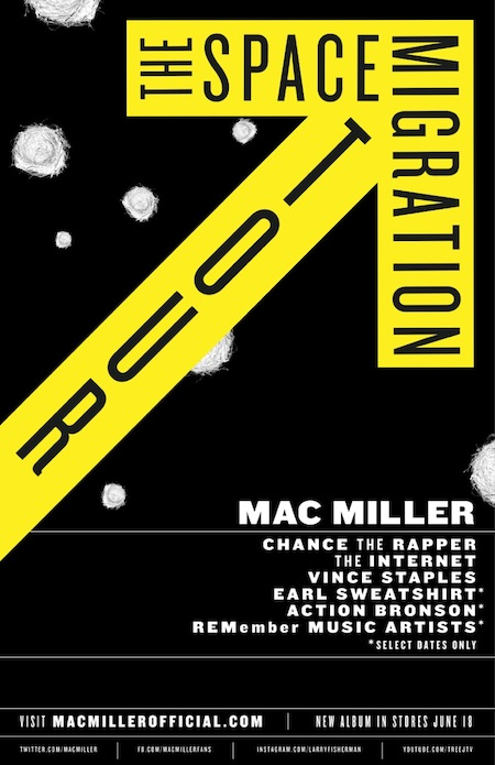 mac miller tour the space migration