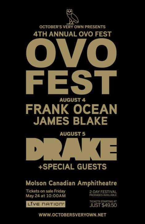 ovo 2013 lineup drake